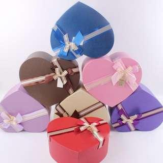Flowers & Gifts Box-Heart Shape Box-Rose Box-Chocolate & Candy Box