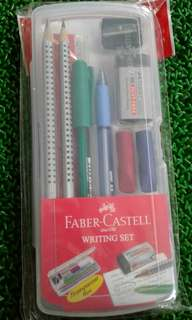 Faber castell writing set