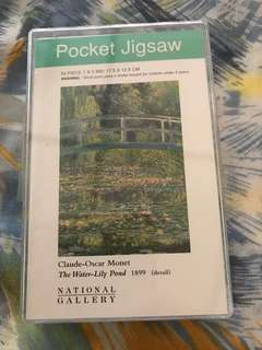 Pocket Jigsaw - Monet's The Water Lily Pond