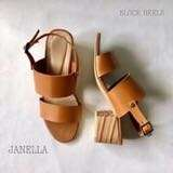 Janella Blocked Heel