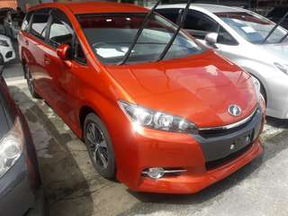 Toyota Wish S Edition 2013/14/15 unregister