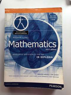 IB HL Maths Textbook