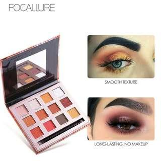 OPEN PO Focallure 12 Colors Eyeshadow NEW