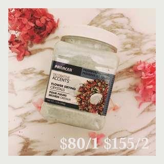 [現貨全新] Flower drying 鮮花乾燥劑 乾花矽膠粉 乾燥砂 自製玫瑰乾花乾燥砂沙大花