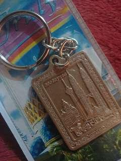 Engraved Malaysia Keychain
