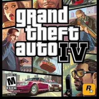 GTA IV ORIGINAL PC DISC