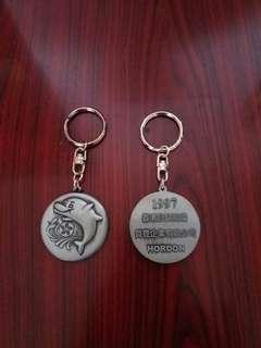 1997年香港回歸祖國紀念匙扣。每個$8元港币。有.50個要一批賣。。