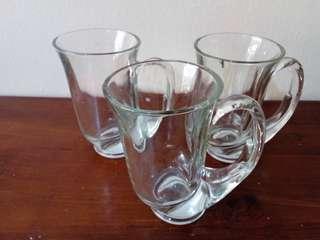 Vintage Rare Tiara Exclusive Glassware Mug (3 pcs)