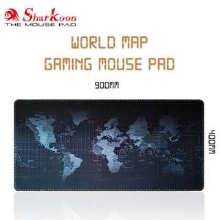 World Map Gaming Mouse Pad / Mousepad
