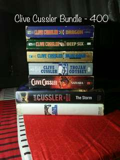 Book Bundle 17-Clive Cussler