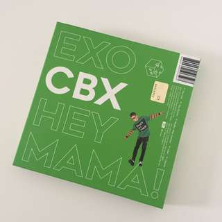 CBX Hey Mama (Chen ver.) free poster