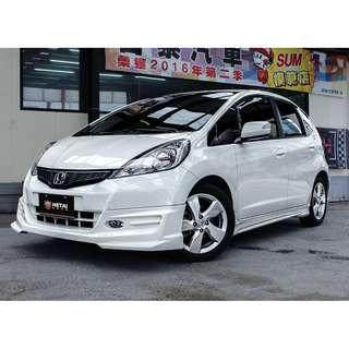 2013 Honda Fit 白 1.5