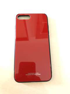 MCHOCK Tempered Glass Case For iPhone 7 Plus & 8 Plus