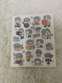 EXO Chanyeol GG stickers