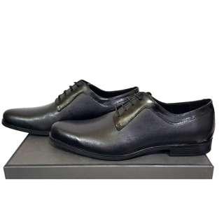 Black Leather Shoes PM-294 PEDRO SHOES