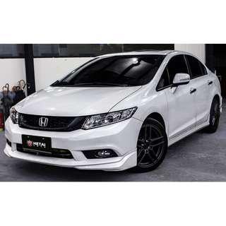 2014 Honda 喜美9代 1.8 白