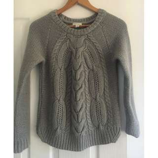 Witchery Cable Knit Jumper - XS Size 6/8