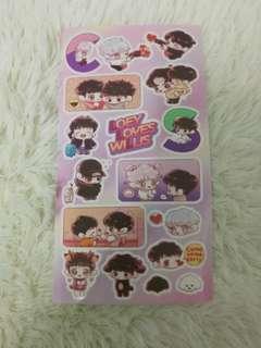 LoeyLovesWillis stickers