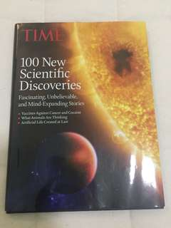 Times Magazine Book 100 New Scientific Discoveries