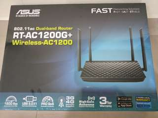 SALE!  Brand New Asus AC1200G+ router (sealed box)