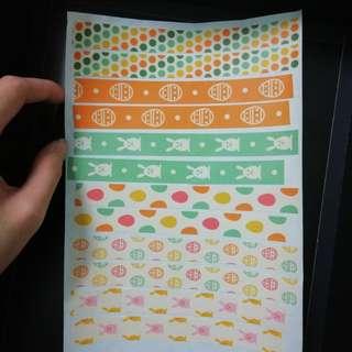 Easter Bunny Sample sheet