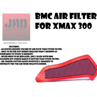 BMC Air filter for Yamaha Xmax 300