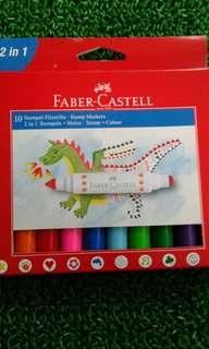 Faber castell stamp markers