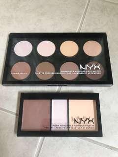 NYX Powder Contour Palette & Creme Contour Palette