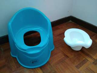 Potty/ toilet training set (brand: sweet cherry)