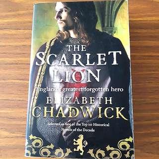 The Scarlet Lion By Elizabeth Chadwick #HariRaya35