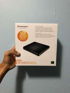 Lenovo DB65 USB Portable DVD Burner