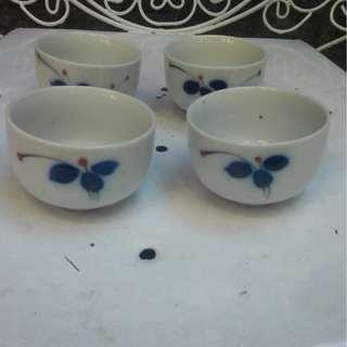 Cherry teacups