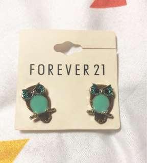 Forever 21 | Owl Stud Earrings