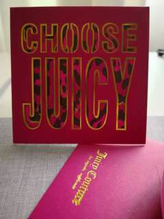 Juicy Couture red packet