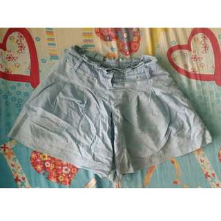 Soft Denim Shorts