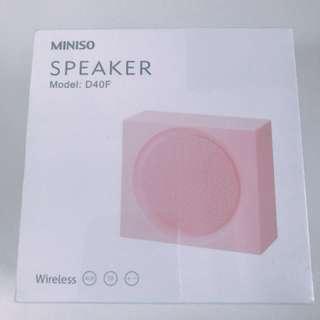 (BN) Miniso Speaker D40F Pink