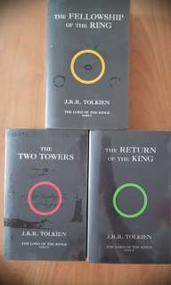 J.R.R. Tolkien The Lord Of The Rings