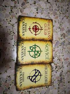 Set of 3 books - Fantasy series Magician's Guild by Trudi Caravan