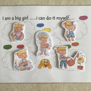 """DIY Memory - """"I am a big girl"""""""