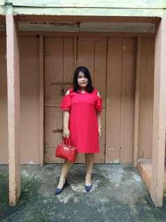 Baju merah sanghai