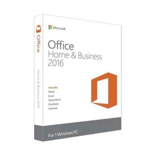 Microsoft Office 2016 Student/Business for Windows/MAC