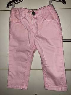 JusTees baby pink jeans