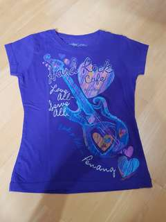 Hard Rock Tshirt (~8-9 yo)