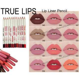 SALE!❤️💯Menow Lips Lip Liner 12 pcs.