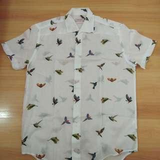 Zara Man Bird Design Polo