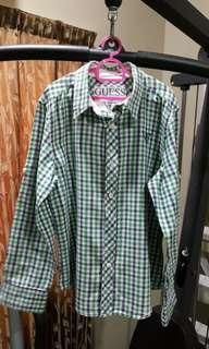 Raya Sale Original Guess Boy Shirt Long Sleeve