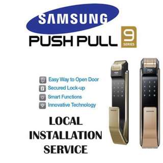 Samsung SHS-P910 with installation