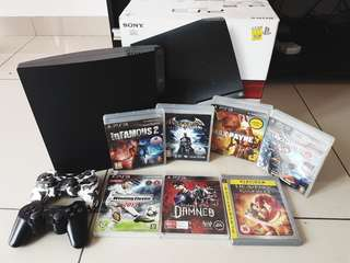 PS3 full set with 8 games