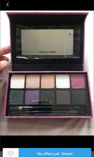 Brand New Authentic Victoria Secret Eyeshadows With Eyeshadow Brush And 1 Black Eyeliner Pencil.