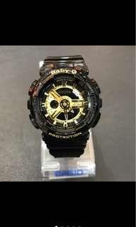 🚚 🇬🇧英國 Baby-G夏季男女款手錶 防水運動流行錶